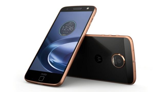 Moto Z e Moto G4 Android Nougat