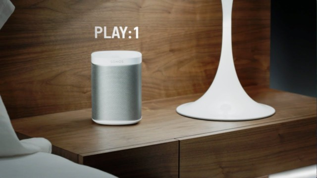 Apple e Sonos Play 1 e Play 5