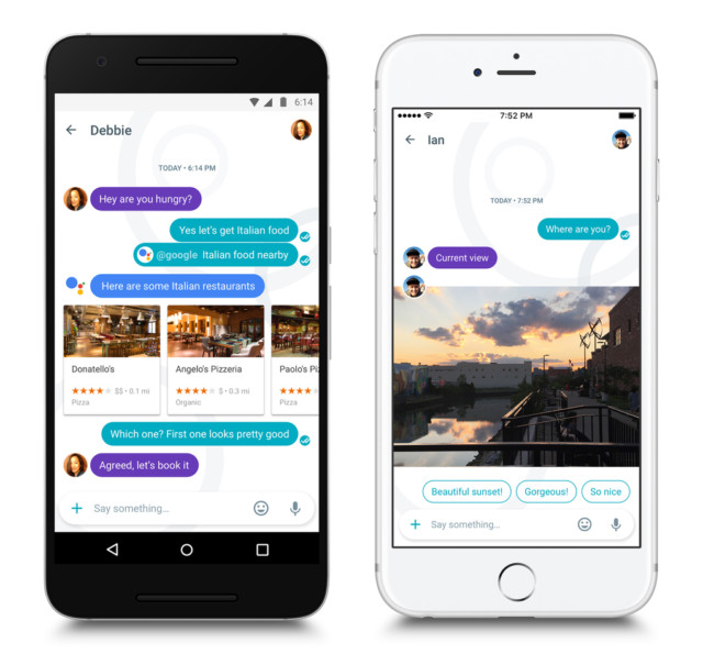 Google Allo per Android e iOS