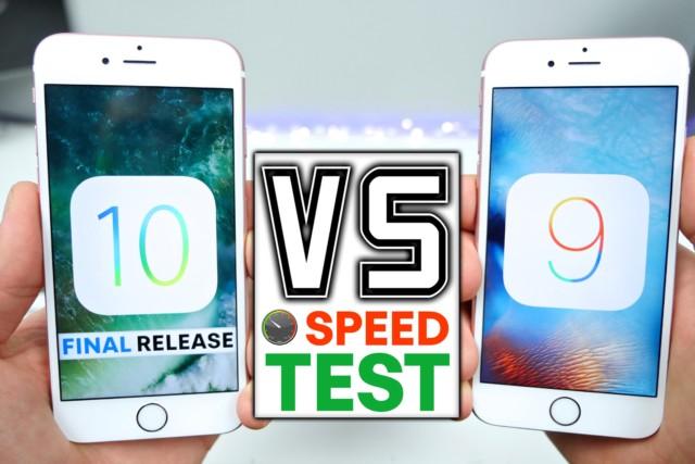 iOS 10 Vs iOS 9.3.5 su iPhone