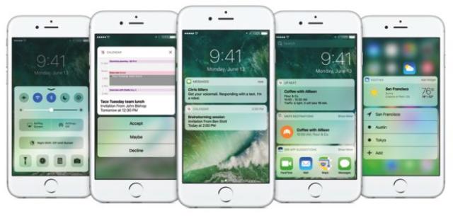iOS 10 problema