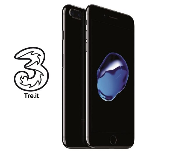 Tre Italia offerte iPhone 7 e 7 Plus