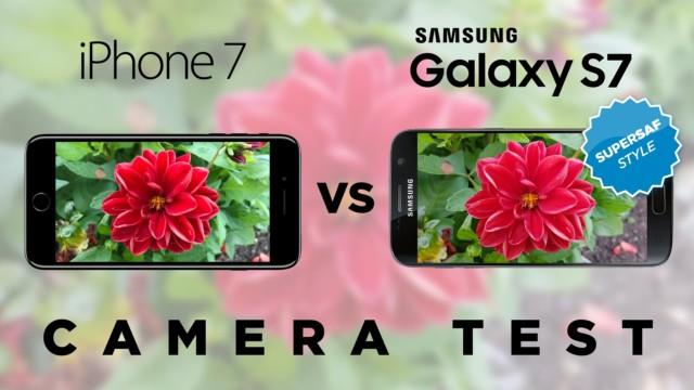 Galaxy S7 vs iPhone 7 confronto fotocamere: il video