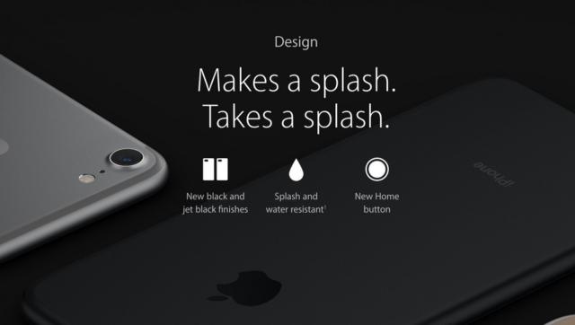 iPhone 7 e 7 Plus resistenza acqua