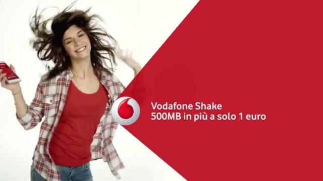Vodafone Shake: novità settembre 2016