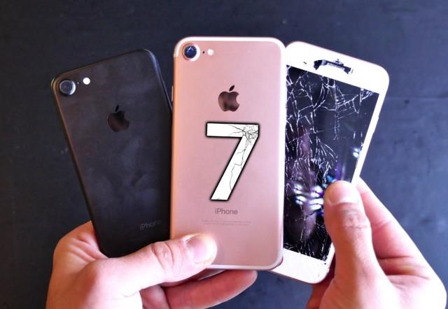 iPhone 6S vs iPhone 7 test resistenza alle cadute: tutto un altro livello!