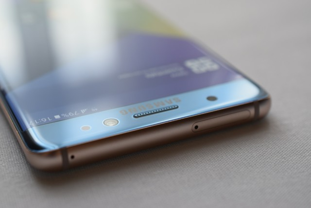 Galaxy Note 7 batterie difettose