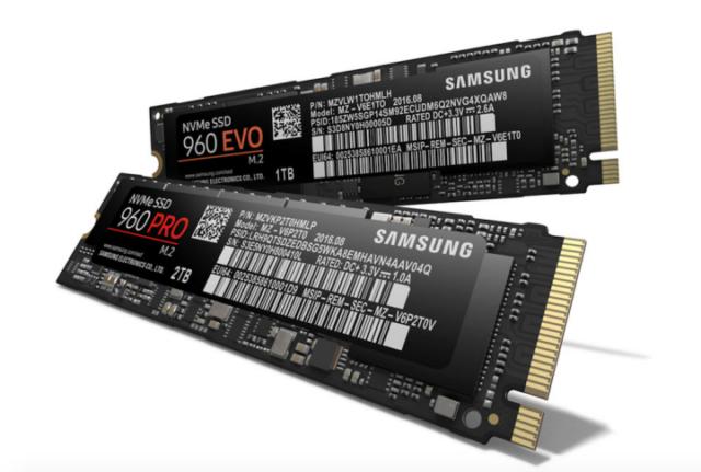 Samsung SSD Evo 960 PRO e 960 EVO