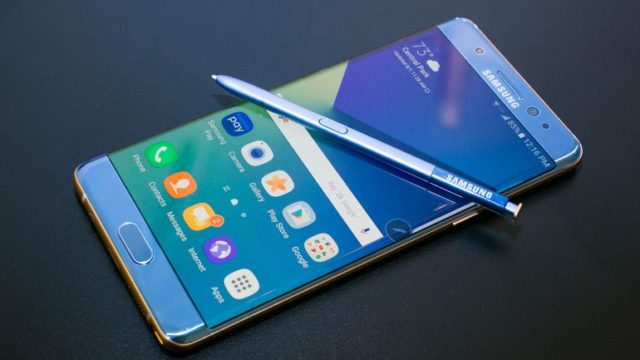 Galaxy Note 7 richiamo