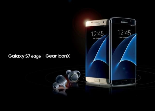 Galaxy S7 e S7 Edge regalano Gear IconX