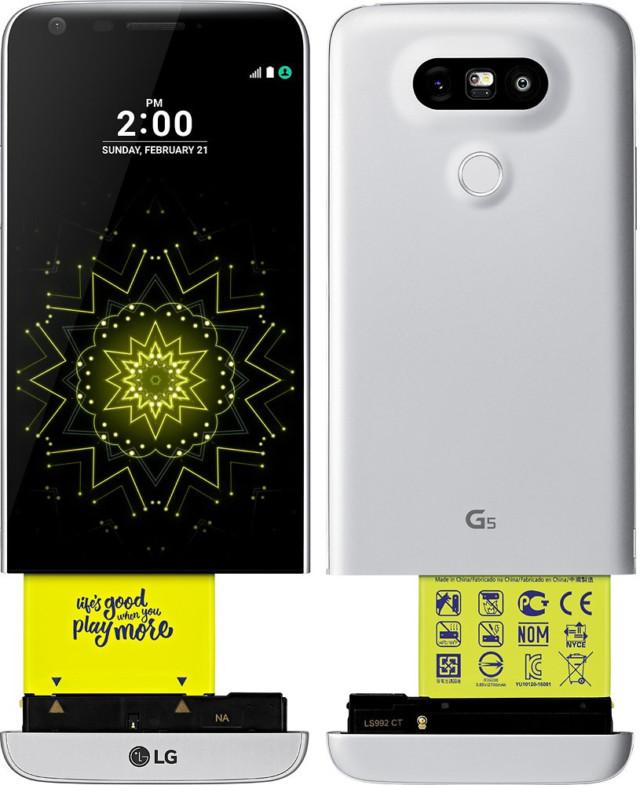 LG G6 non sarà modulare come LG G5?