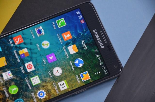 Galaxy Note 4 aggiornamento
