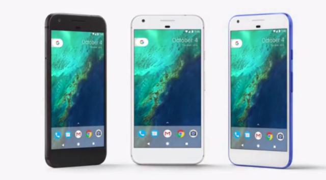 Google Pixel e Android 7.1 Nougat