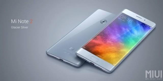 Xiaomi Mi Note 2 ufficiale