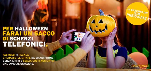 Fastweb mobile Halloween
