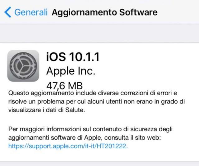 Apple rilascia iOS 10.1 con la modalità ritratto per iPhone 7 Plus