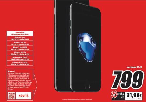 mediaworld iphone 7