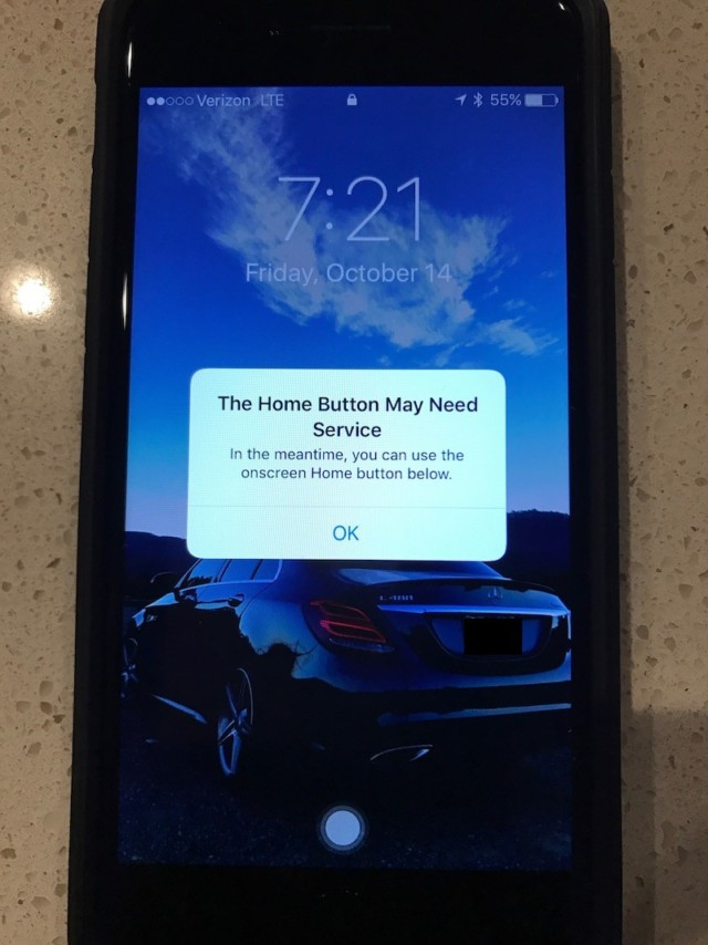 iPhone 7 tasto Home rotto