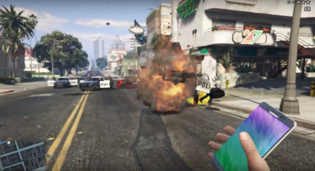 Galaxy Note 7 Mod GTA V