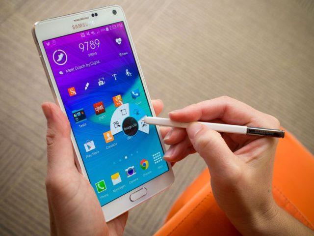 Galaxy Note 4 NO brand, Vodafone aggiornamento