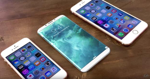 iPhone 8 concetto design
