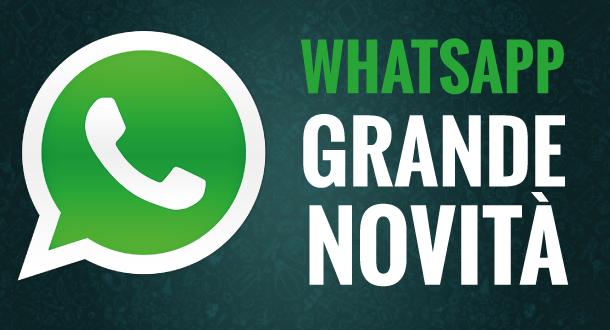 Whatsapp aggiornamento Android