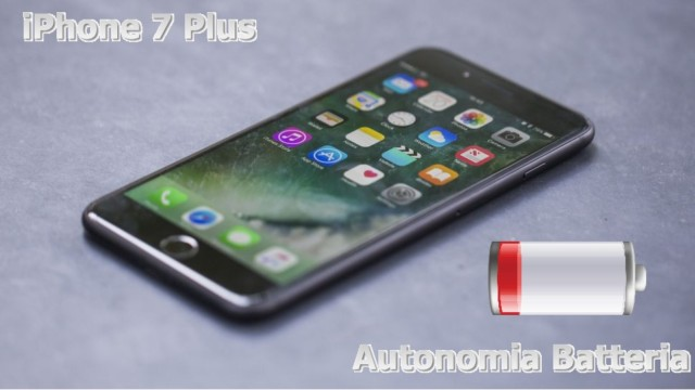 iPhone 7 Plus autonomia batteria