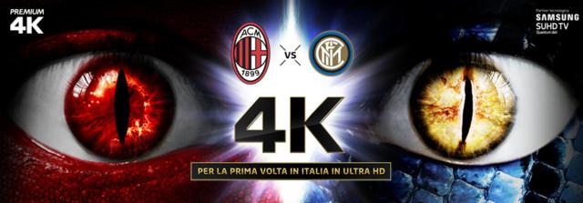 Mediaset Premium Milan Inter 4K