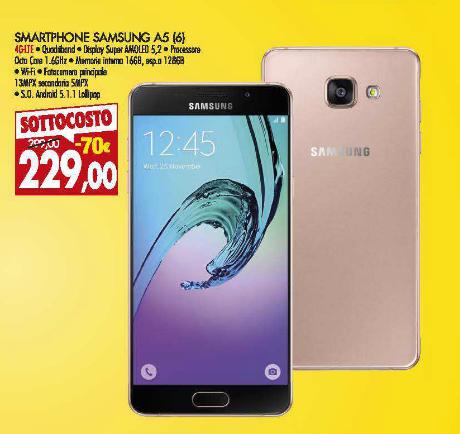 Samsung a5 prezzo piu basso