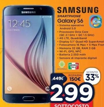 Galaxy S6 sottocosto