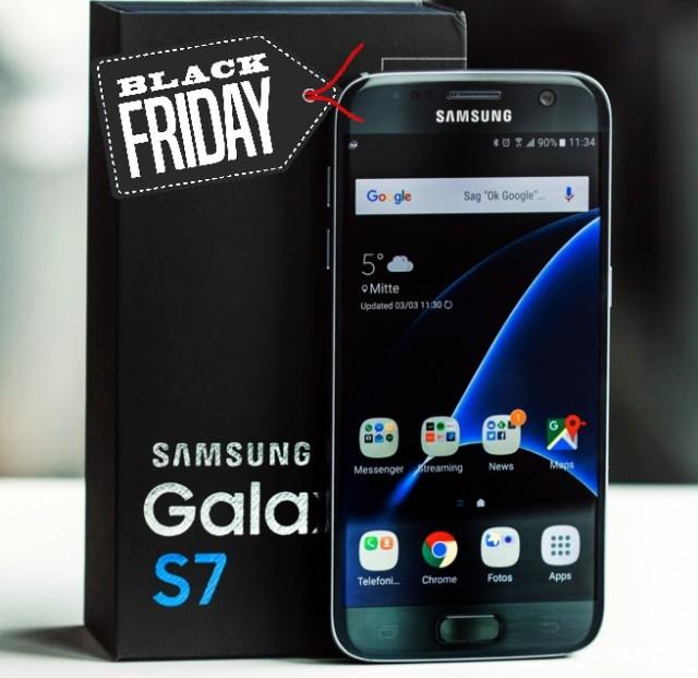 Galaxy S7 prezzo sottocosto Black Friday