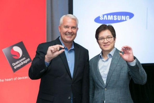 Snapdragon 835 partnership Qualcomm e Samsung