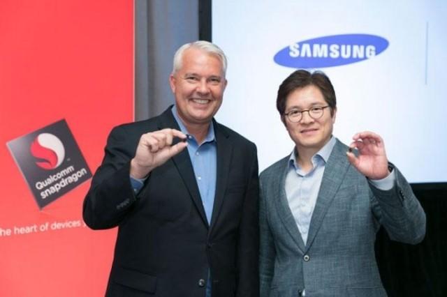 Snapdragon 835 partnership Qualcomm e Samsung