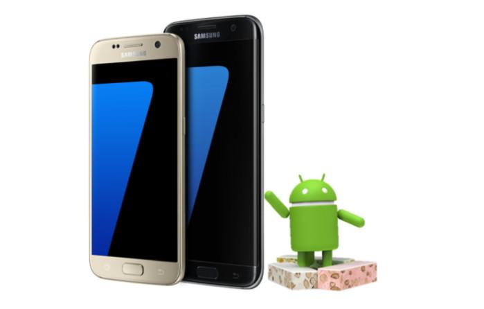 Galaxy S7, S7 Nougat beta inizio ufficiale