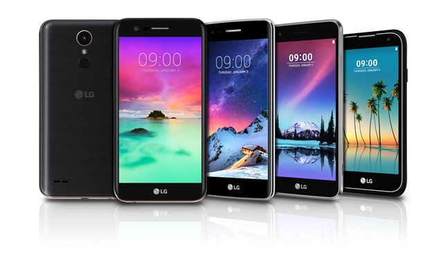 LG K10, K8, K4, K3 2017 ufficiali