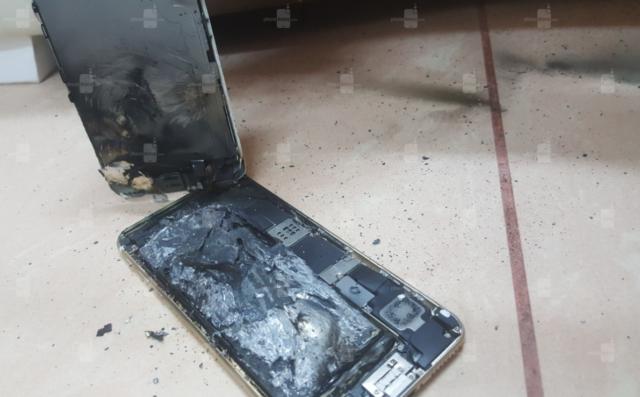 iPhone 6S esplode batteria