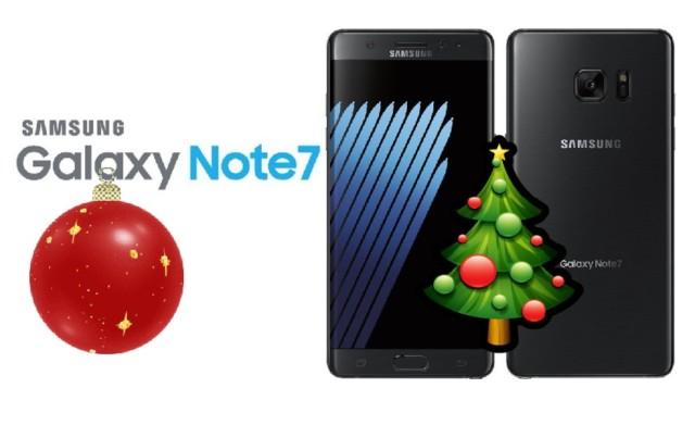 Galaxy Note 7 Auguri Natale