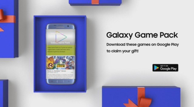 Galaxy S7 e S7 Edge Game Pack