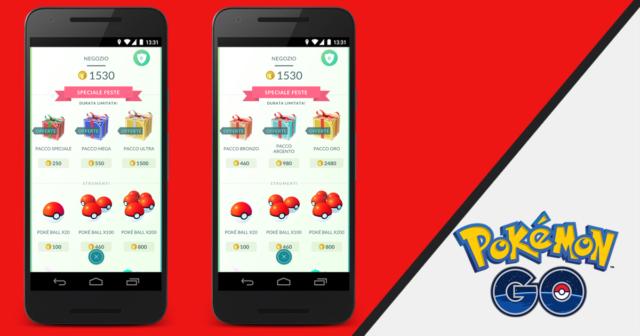 Pokemon Go feste: nuovi pacchetti