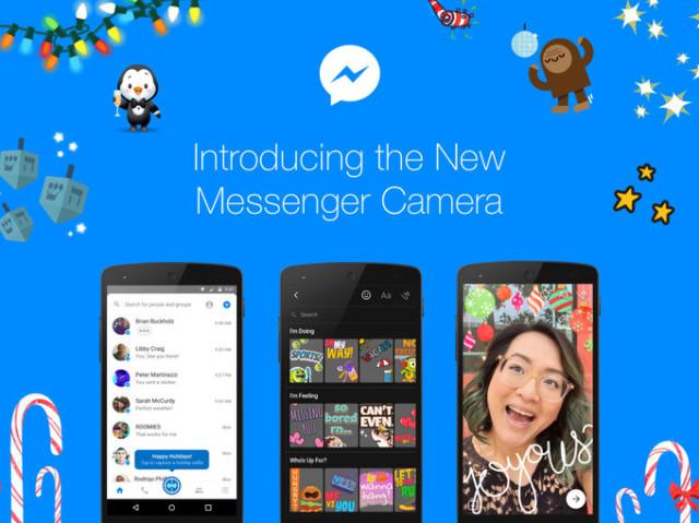 Facebook Messenger si aggiorna con potenti effetti per la camera