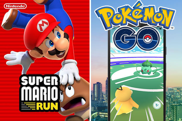Pokemon Go vs Super Mario run