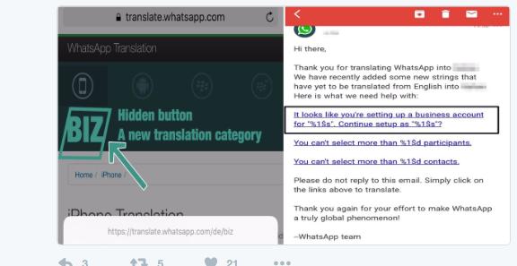 WhatsApp biz
