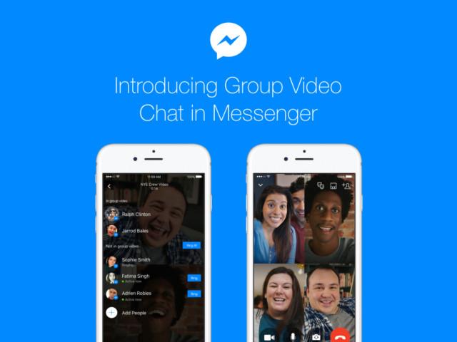 Facebook Messenger video chiamate di gruppo