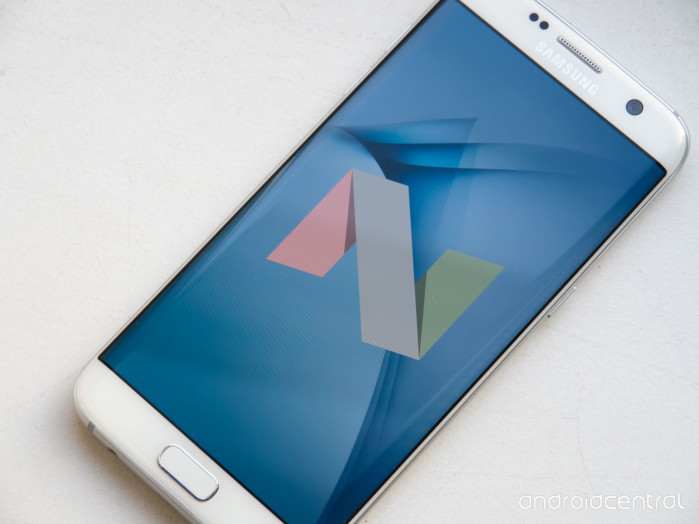 Galaxy S7 e S7 Edge Android Nougat finale