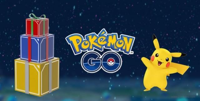 Pokemon Go Evento Natale e nuovo anno