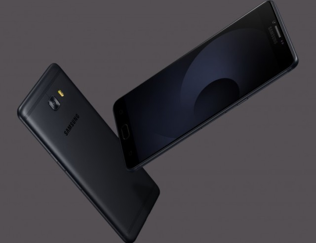 Galaxy C9 Pro in nero