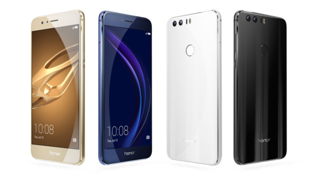 Huawei Honor 8 Android Nougat