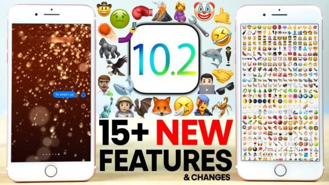 iOS 10.2 disponibile al download