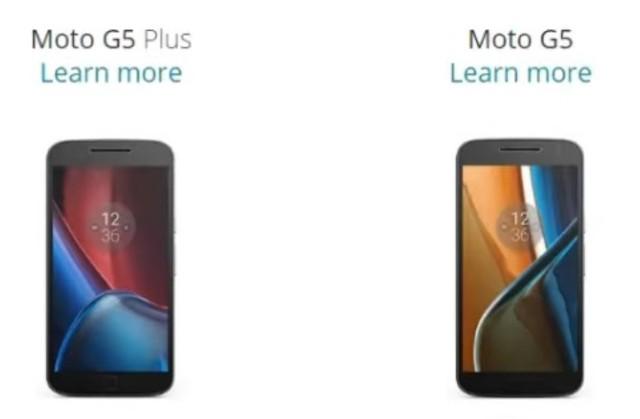 Lenovo-Motorola Moto G5 e G5 Plus