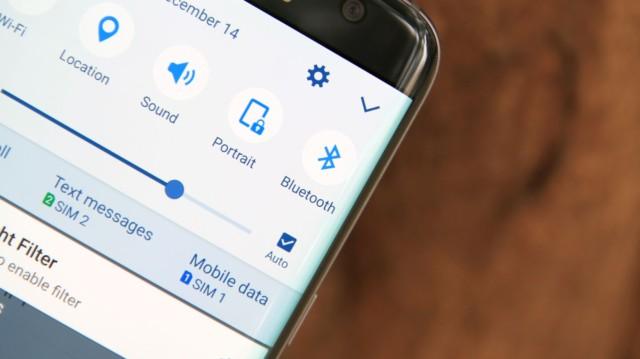 Galaxy S8 con Bluetooth 5.0